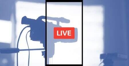 A importância dos vídeos ao vivo nas mídias sociais.
