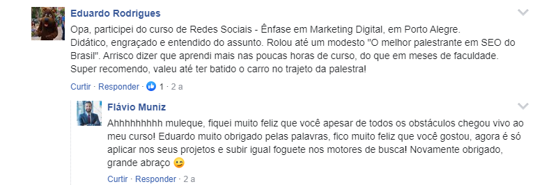 Especialista em Marketing Digital - depoimento Eduardo Rodrigues